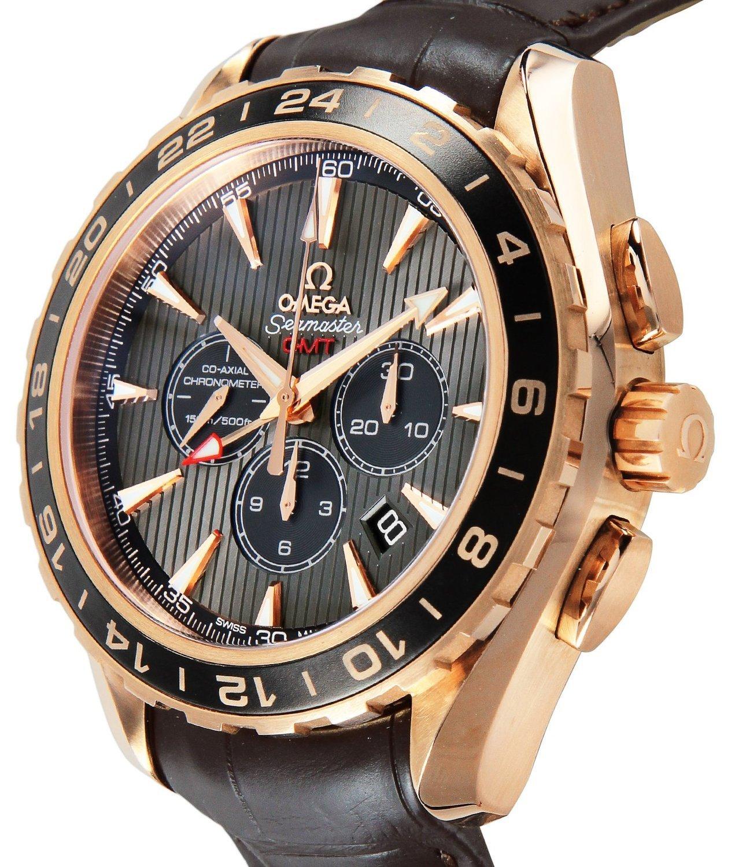 Omega Luxury Watch Aqua Terra K18pg