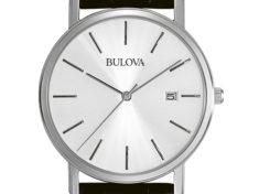 Bulova Men's 96B104 Silver Dial
